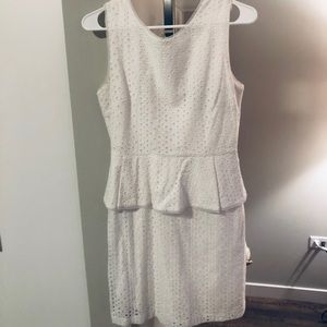 BCBG white dress sz 4